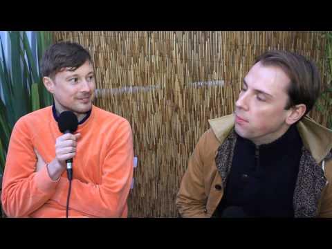 Django Django chat about Velure Sweatshirts, Water Slides & More! (Getmusic Interview)