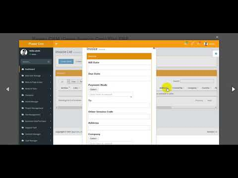 Download Power CRM Open Source Crm Php ERP for free