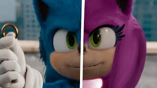 Sonic The Hedgehog Movie Choose Your Favorite Desgin For Both Characters (Amy & Sonic) Part 2