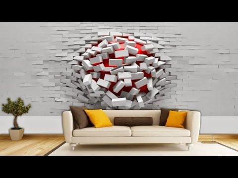 رسومات ثلاثية الأبعاد على جدران المنزل حتما ستدهشك Youtube