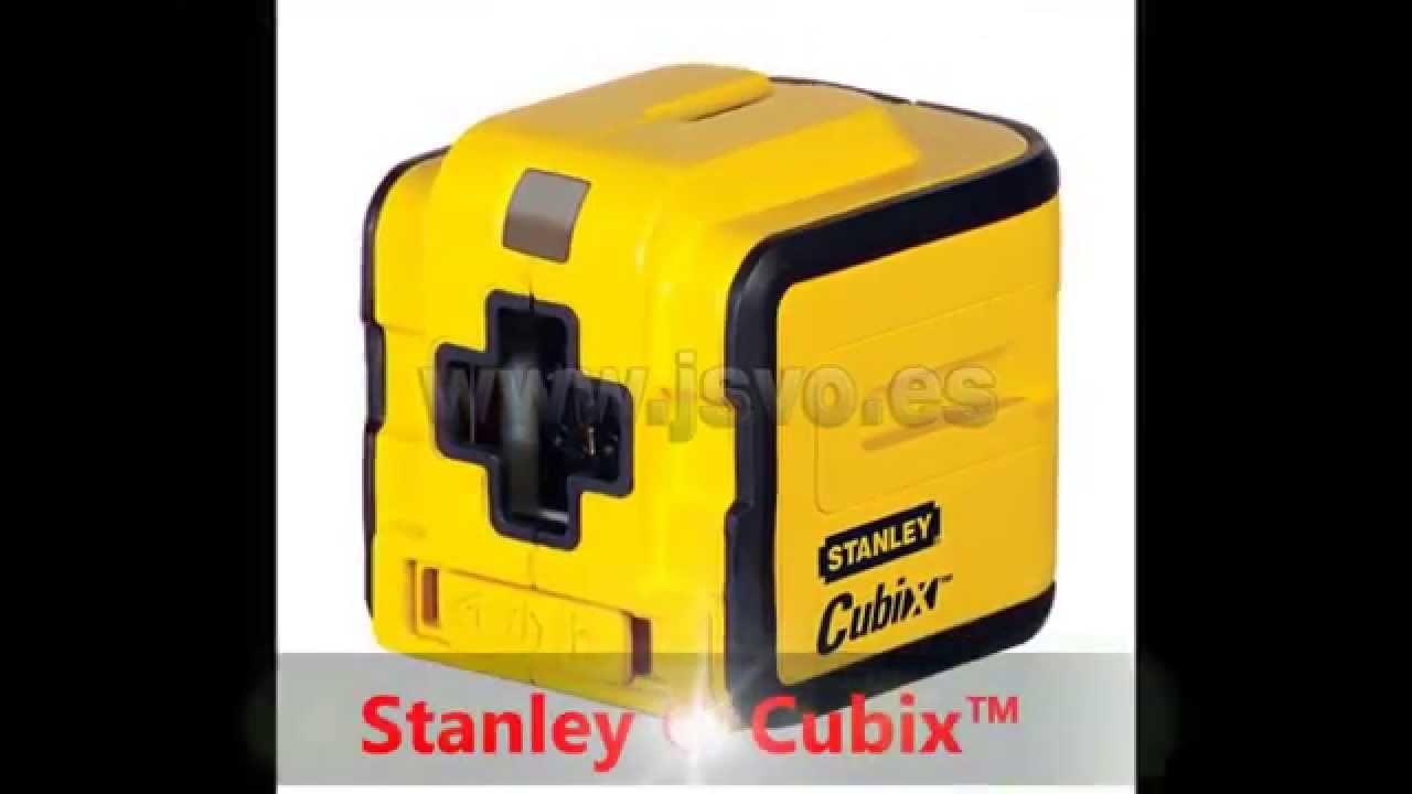 Nivel l ser stanley cubix youtube - Nivel laser stanley ...