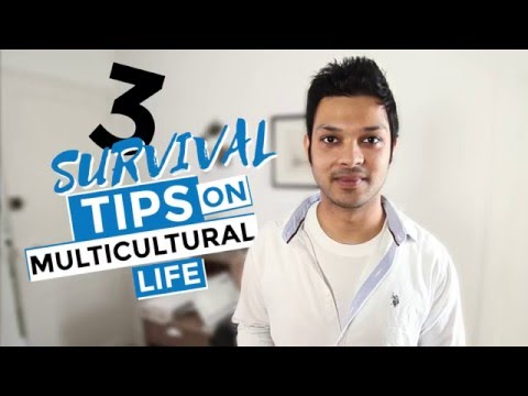 Survival tips for international students:  Multicultural living
