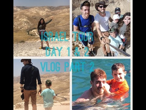 Our Tour of Israel Day 1 & 2, Trip Vlog Part 2