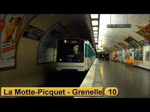 Métro de Paris : La Motte-Picquet - Grenelle | Ligne 10 ( RATP MF67 )