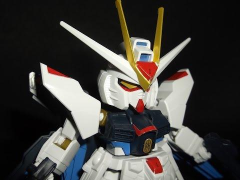 SD EX Standard Strike Freedom Gundam Review