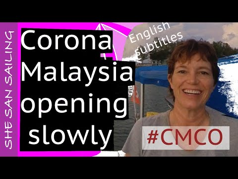 CMCO 😷 Lockdown in Langkawi Malaysia 🇲🇾 Ep4 - (GRATEFUL for running, biking and eating out)