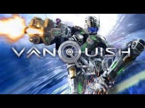 Vanquish  -  GOD HARD MODE   - Triple Drill Bots In Sniper Pit  -  Brutal Games Series |