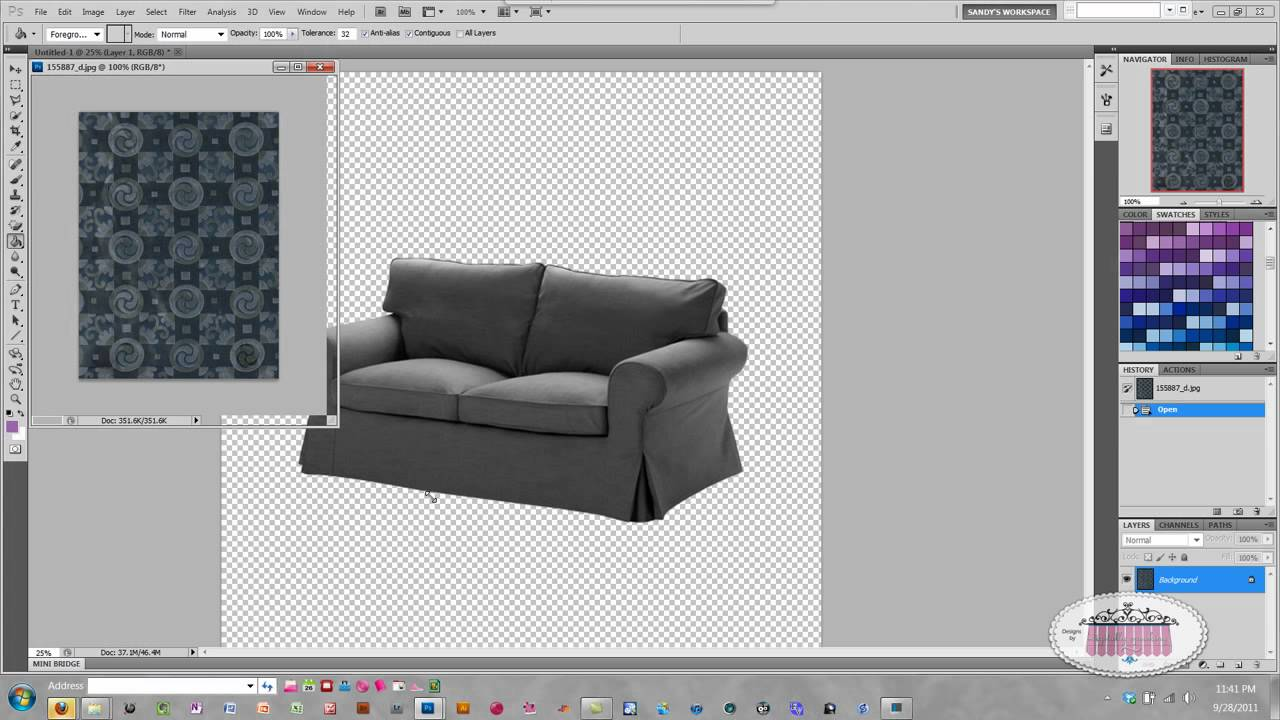 Delicieux Recover Your Furniture In Photoshop