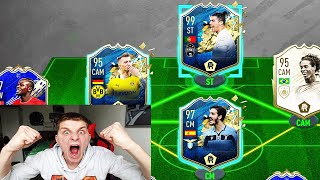 RONALDINHO + GATTUSO + GERRAD ICON in 195 Rated TOTS Fut Draft Challenge! - Fifa 20 Ultimate Team