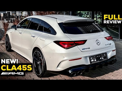 2020 MERCEDES AMG CLA45 S NEW FULL Review BRUTAL 4MATIC+ Shooting Brake Interior Practicality MBUX