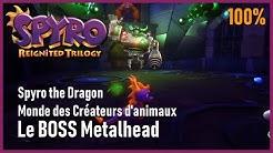 Spyro the Dragon - Monde des Créateurs d'animaux - Metalhead