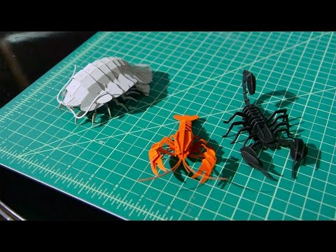 Show and Tell: Papercraft Creatures