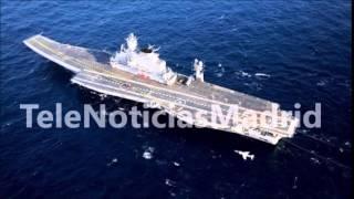 Rusia anuncia tres proyectos de portaaviones del futuro