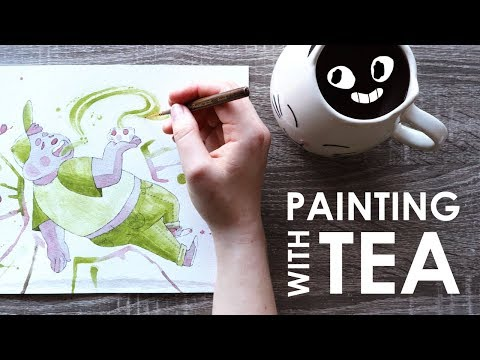 PAINTING with TEA