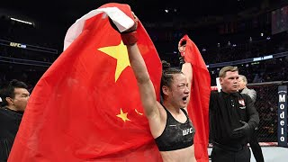 Great and beautiful: Zhang Weili defends UFC title