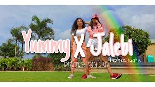 Yummy x Jalebi| Tesher| Dance cover| Priti x Pooja