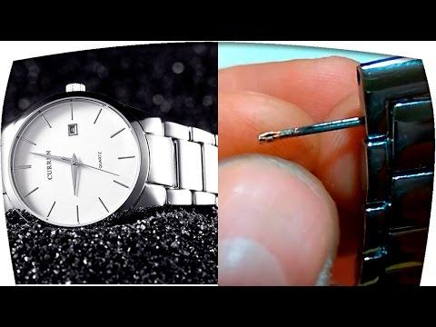 Часы наручные с алиэкспресс. Как укоротить браслет часов