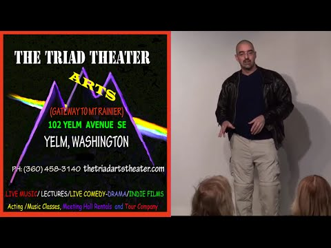 Randy Cramer live at the Triad Theater on Nov 14, 2015 Part 1