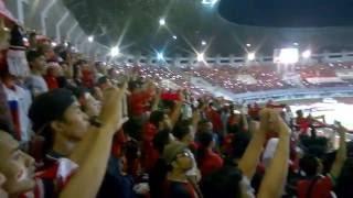 Gambar cover [Indonaesia v. Vietnam] National Anthem Indonesia Raya Sung At Pakan Sari Stadium, Bogor