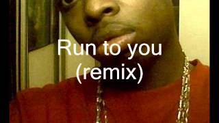 Whitney Houston run to you (remix) Sample
