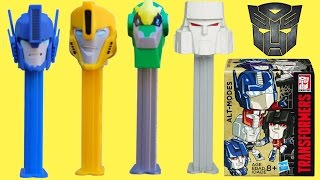 NEW TRANSFORMERS Robots in Disguise PEZ Dispensers