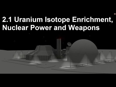 2.1 (Simple) Uranium Isotope Enrichment, Nuclear Power/Weapons [SL IB Chemistry]