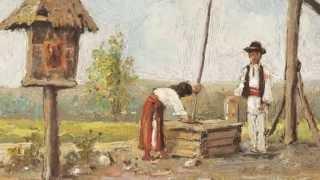 Skylark (Ciocârlia) -Benone Damian + Picturi de Ludovic Bassarab (1866-1933)