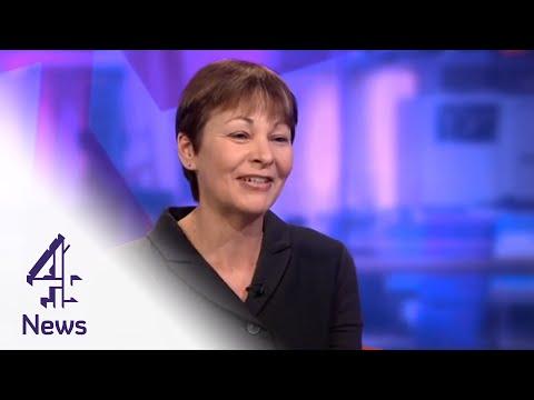 "Caroline Lucas defends Green Party leader Natalie Bennett's ""excruciating"" interview"