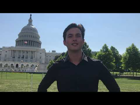 Laine Hardy Interview at A Capitol Fourth