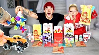 Kid's Meal MUKBANG! Ft. Jordyn Jones (McDonald's, Chick-Fil-A, Del Taco, and Wendy's)