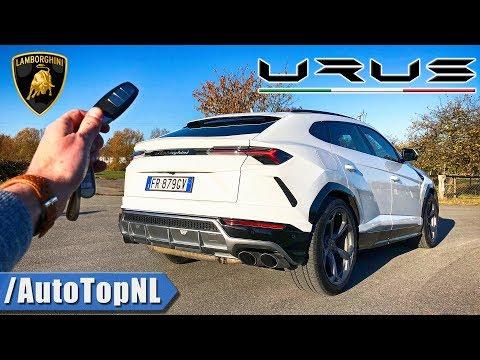 LAMBORGHINI URUS REVIEW POV Test Drive on AUTOBAHN & ROAD by AutoTopNL