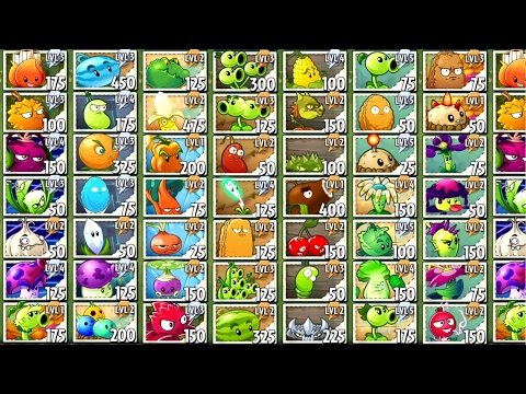 Plants vs. Zombies 2 Every Free Plant Power Up!