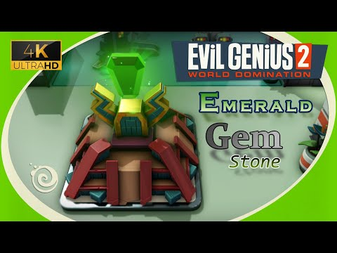 Evil Genius 2 (4K UHD) ~ The Emerald Gem |