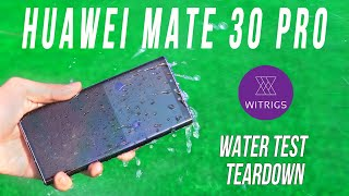 Huawei Mate 30 Pro Waterproof Test