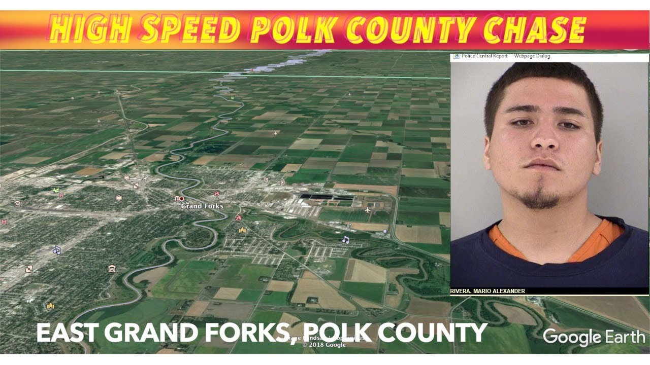 High Speed Polk County Chase that started in EGF ends in