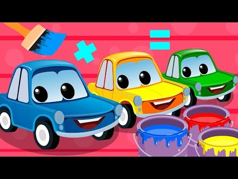 Thumbnail: Zeek And Friends | Mixing Colors | Car Song | Rhymes For Children
