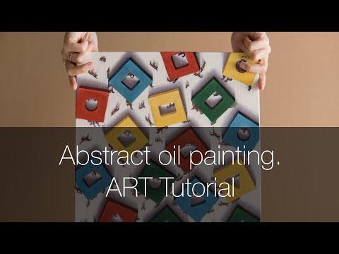 ART tutorial. Новая картина маслом. Как я рисую? thumbnail