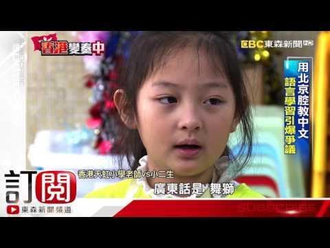 普通話教中文惹議 港捍衛傳統粵語
