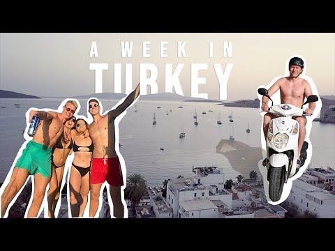 A Week In Bodrum, Turkey // Restaurants, Boat Trips And More (but Not Much More)