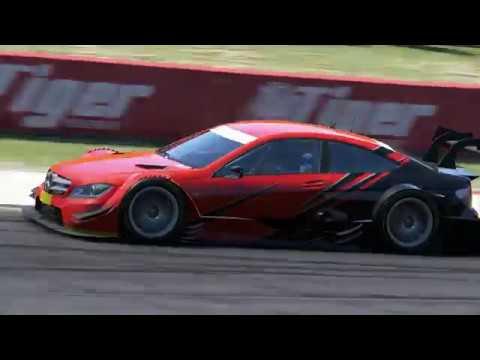 Mercedes-Benz AMG C Coupe DTM on Bathurst