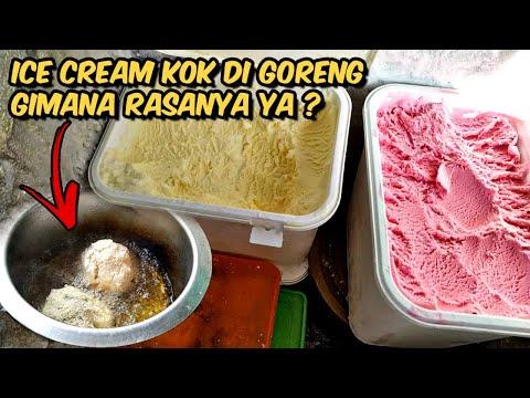 Begitu banyak variasi olahan dari es krim,salah satu nya adalah Es Krim Goreng ( Fried Ice Cream). Cara membuat nya juga....