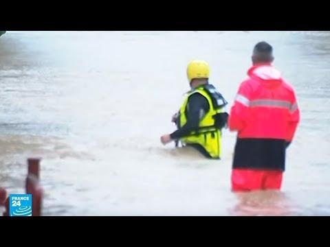 فيضانات توقع قتلى في جنوب فرنسا  - نشر قبل 3 ساعة