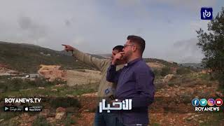 """الاحتلال يقيم بؤرة استطانية جديدة باسم """"بيتار"""" على مداخل بلدة بيتا - (14-2-2018)"""