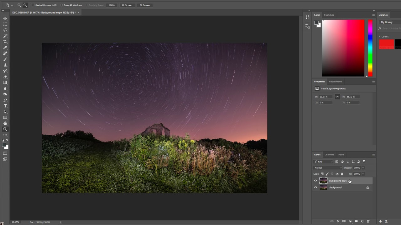 Lightroom and Photoshop Tutorial: How to remove long exposure noise