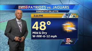 Video: Chilly night, but mild weekend ahead