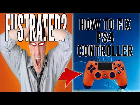 How To Fix PS4 Controller If Only A Yellow Light Flashes (PART 4)*2018