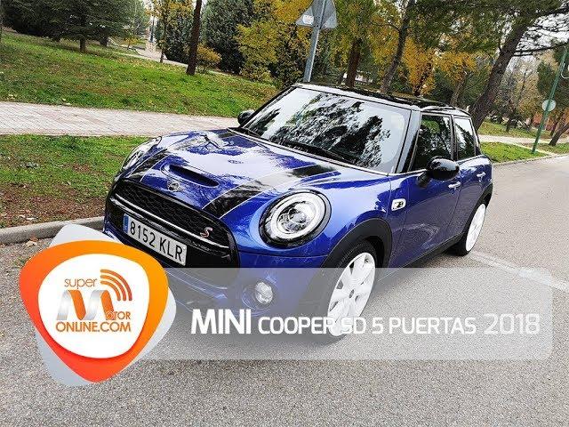MINI Cooper SD 5P 2018 / Al volante / Prueba dinámica / Review / Supermotoronline.com