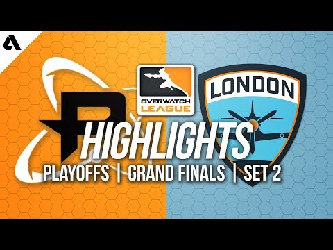 Philadelphia Fusion vs London Spitfire | Overwatch League Grand Finals Highlights Match 2 thumbnail