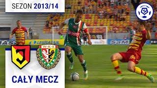 Jagiellonia Białystok - Śląsk Wrocław [1. połowa] sezon 201314 kolejka 35
