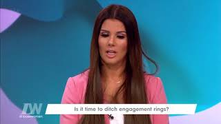 Rebekah Vardy Shares How Jamie Proposed to Her | Loose Women